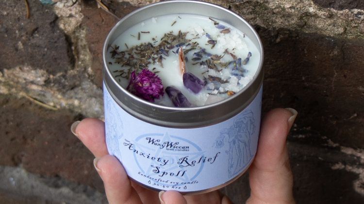 Anxiety Relief Spell Candle