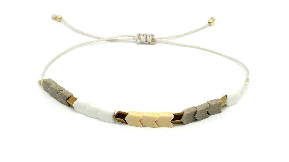 Pepo Gold Agate Friendship Bracelet