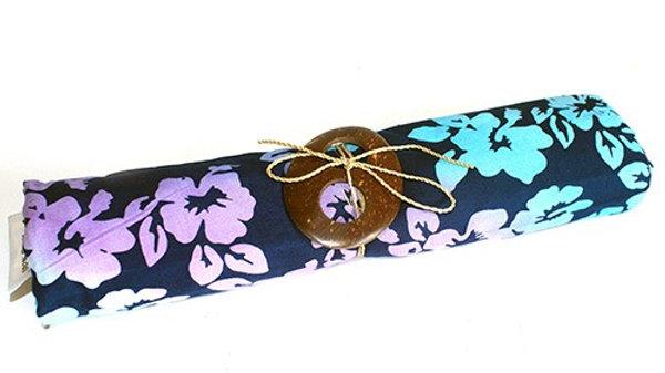 Blue Bali Orchid Sarong