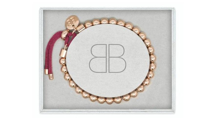 Halay Rose Gold Stretchy Bracelet Gift Set