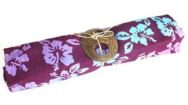 Purple Boho Print Sarong