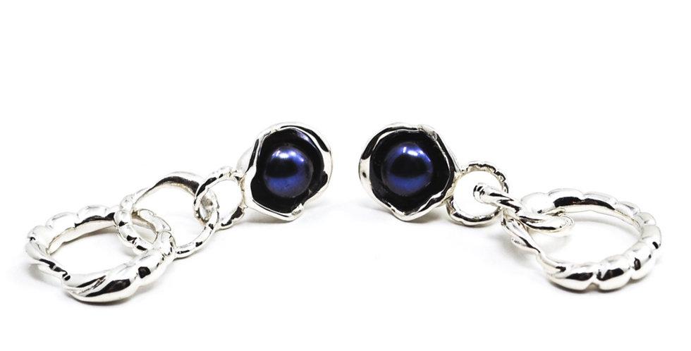Arame Pearl Drop Earrings