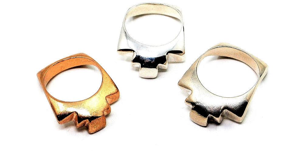 Blarney Ring - Silver