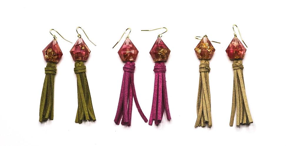 The Petaler Earrings- Rose Petal