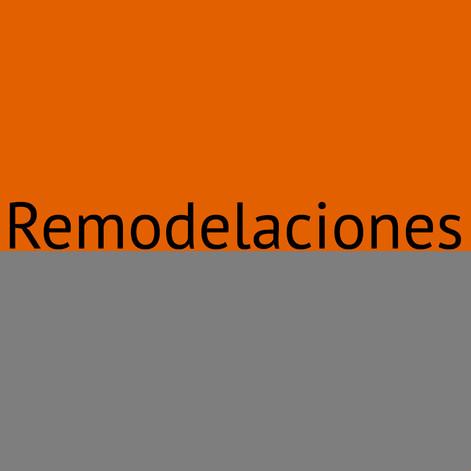 Remodelaciones