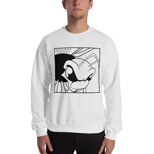 Unisex Hornet Honey White Sweatshirt