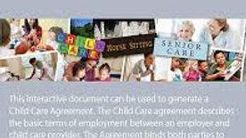 Child Care Agreement