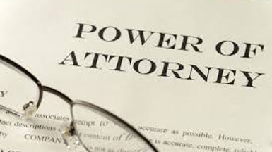 Limited Power of Attorney for Finances