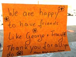 Do Happy Day gratitude note