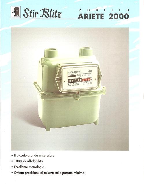 """Contatore Gallus per gas GPL, attacco 3/4"""" (cod. 100530)"""