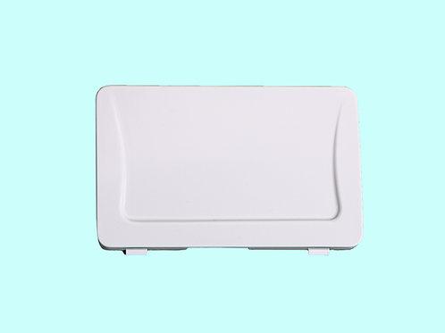 Tasto + molla per placca nuova bianca (cod. 639327)