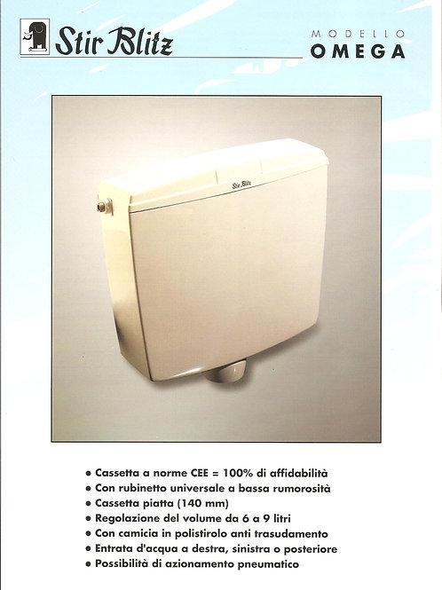 Cassetta a zaino modello Omega bianca tubo 50x40 (cod. 8600161)