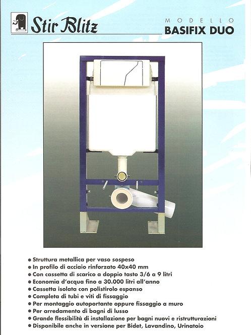 Struttura Basifix Duo completa di tubo e placca (cod. 9600205)