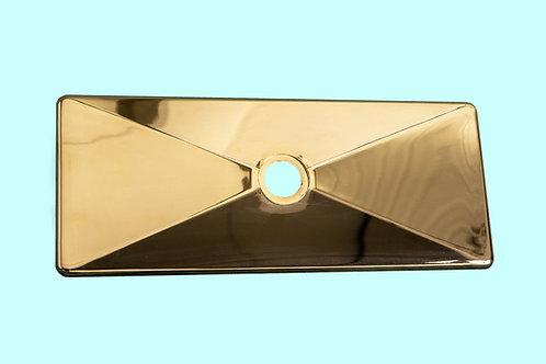 Placca modello vecchio dorata (cod. 1742114)