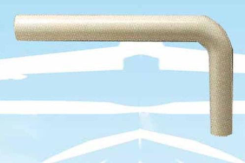 Tubo esterno L.400x210 mm diam. 50x44 (cod. 3930006)