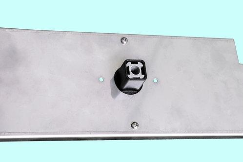 Sottoplacca in acciaio inox per cassetta incasso (3960096)