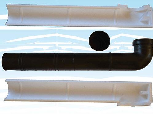 Kit tubo discendente con polistirolo (cod. 9600106)