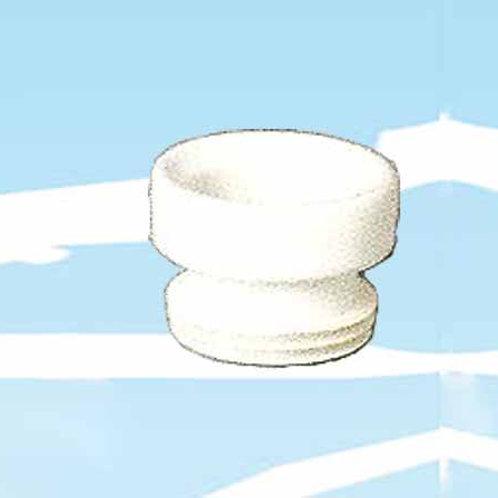 Raccordo wc corto in gomma (cod. 3930016)