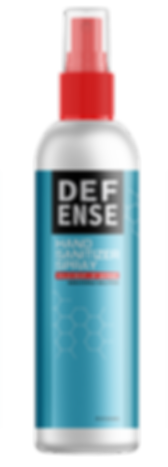 DEFENSE Hand Sanitizer spray with isoporpyl alcohol