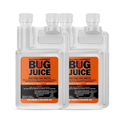 Bug Juice Insecticide Paint Additive -SET