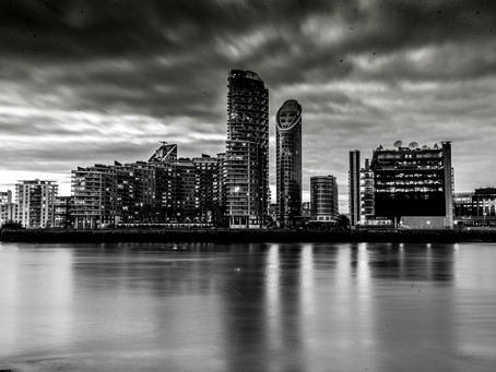 Lockdown photography: Shooting London from The o2