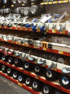 Bunnings Warehouse Wheel Displays.JPG