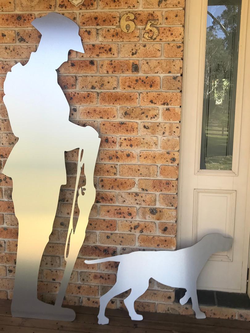 Anzac cutout composite aluminium