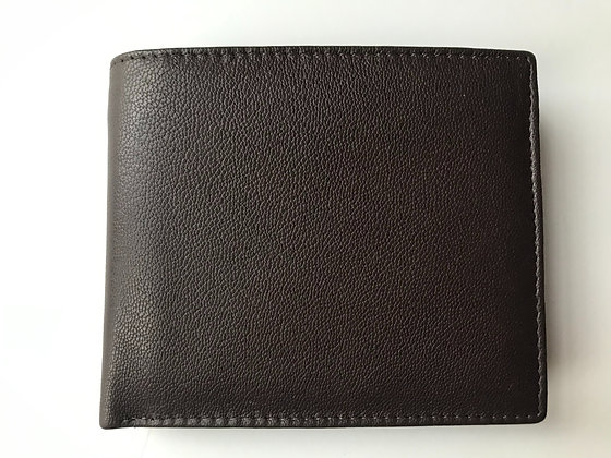 Brown Leather Wallet (B)