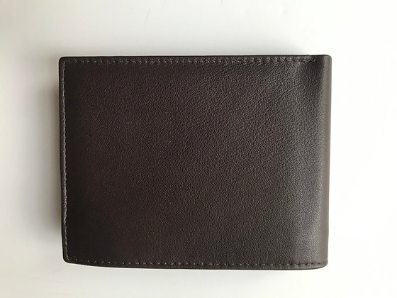 Brown Leather Wallet (A)