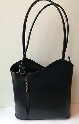 Megan Navy Smooth Leather