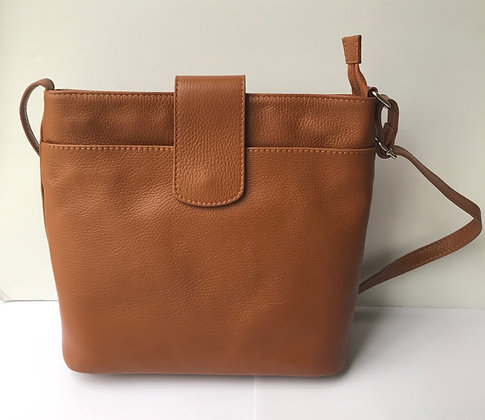 Paula Xbody Handbag - Tan