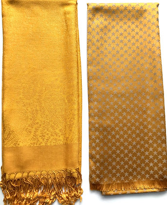 Gold Scarves (No 6/7)