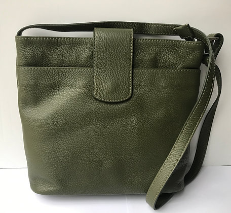 Paula Xbody Handbag -Sage Green