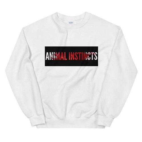 """Animal Instincts"" Unisex Sweatshirt"