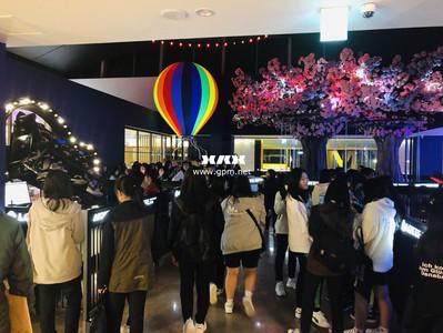 """롯데百 건대점, 1400㎡ 규모 몬스터VR 오픈… """"문화 체험 공간 변신"""""""