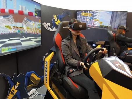 GPM '일렉트로맨 VR 레이싱', 지스타서 '인기'