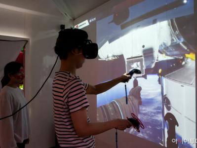 '몬스터 VR 큐브'에 우주인 신체훈련 프로그램설치...NASA 개발 사용
