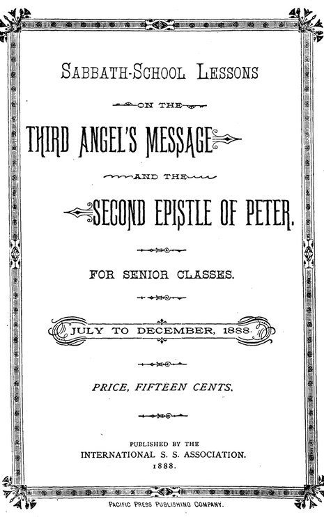 The Third Angel's Message