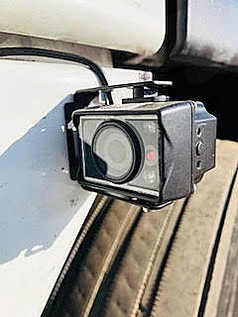 Trucks equipped with 24/7 video monitoring