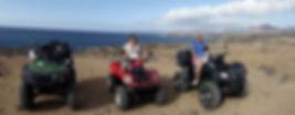 Quad à Playa Blanca