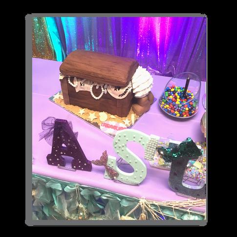 Treasure Chest Baby Shower Cake