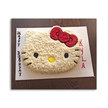 Hello Kitty Birthday Cake - Red Bow