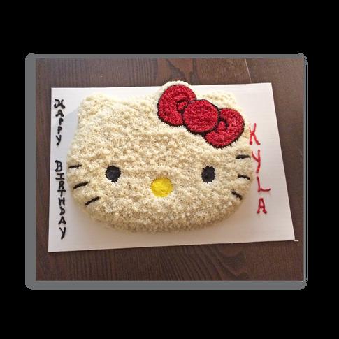 Hello Kitty Birthday Cake - Red Bow