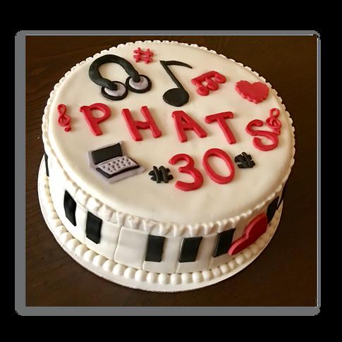 Paino Birthday Cake