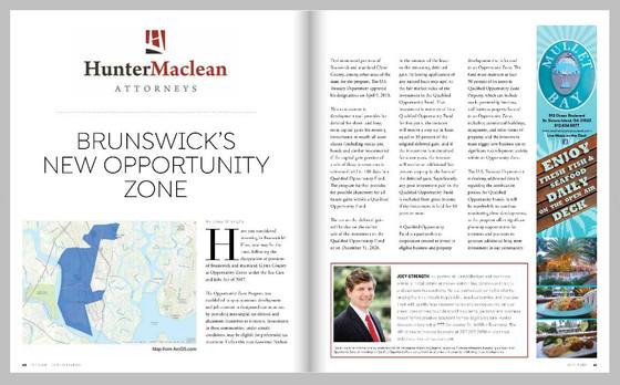 Brunswick's New Opportunity Zone