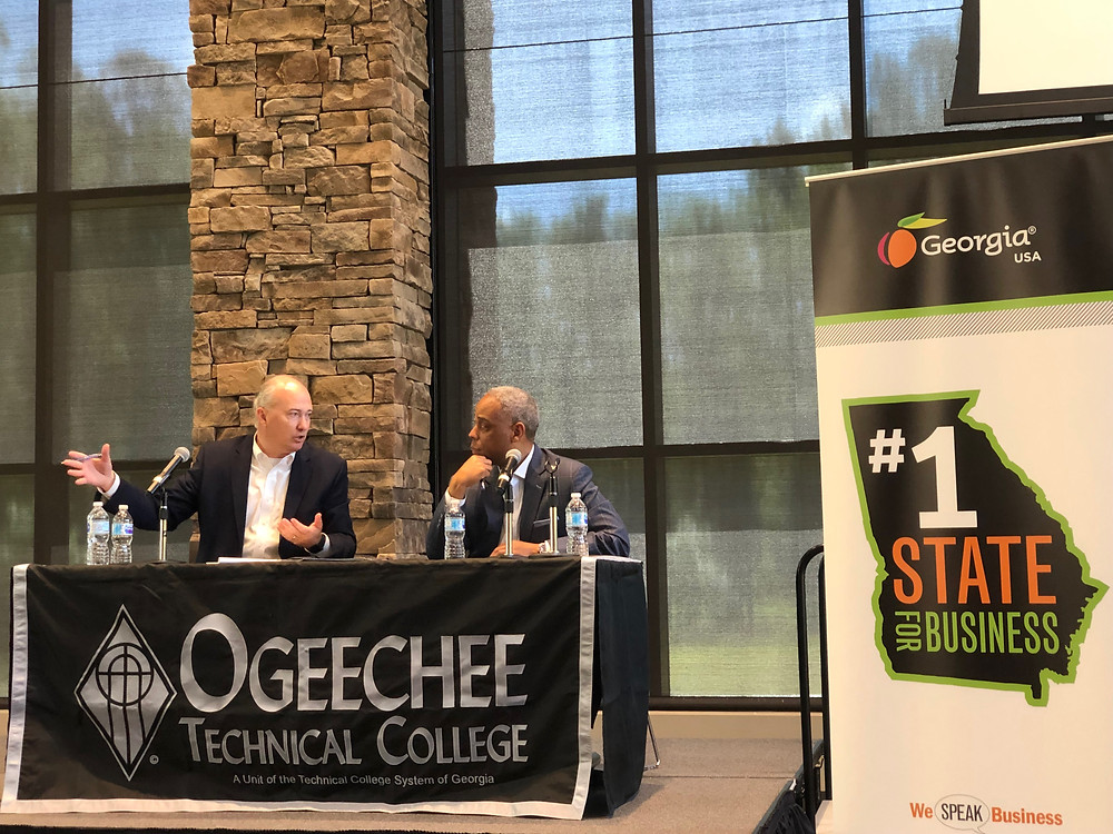 Federal Opportunity Zones Conference, Ogeechee Technical College, Statesboro, Georgia