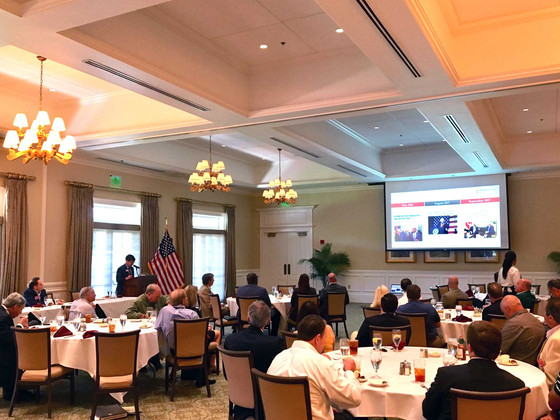 The Realtors Commercial Alliance of Savannah/Hilton Head Luncheon Topic: Finding Opportunity in Oppo