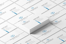 Financial Consulting Business Card Design & Branding