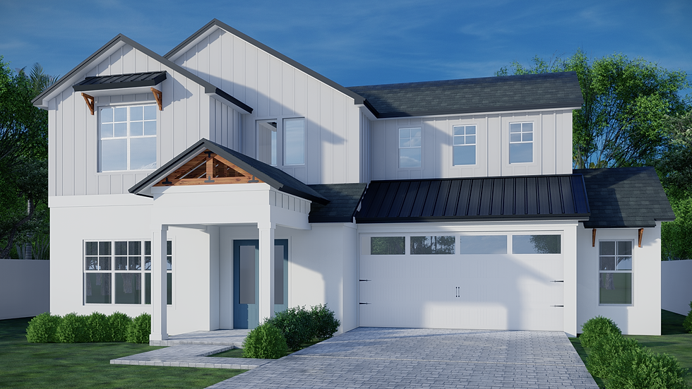 1123 New Hampshire - Rendering - Front E