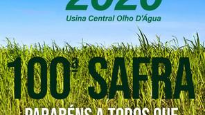 Somos todos #grupoolhodagua 100ª Safra!
